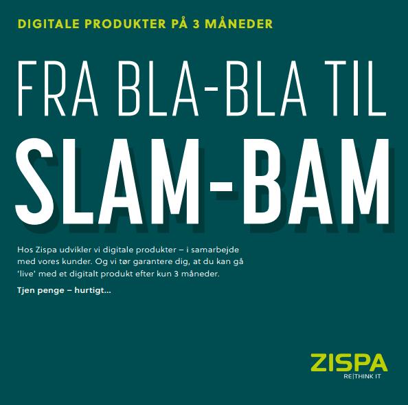 digitalisering, slam bam, guide, zispa, bog